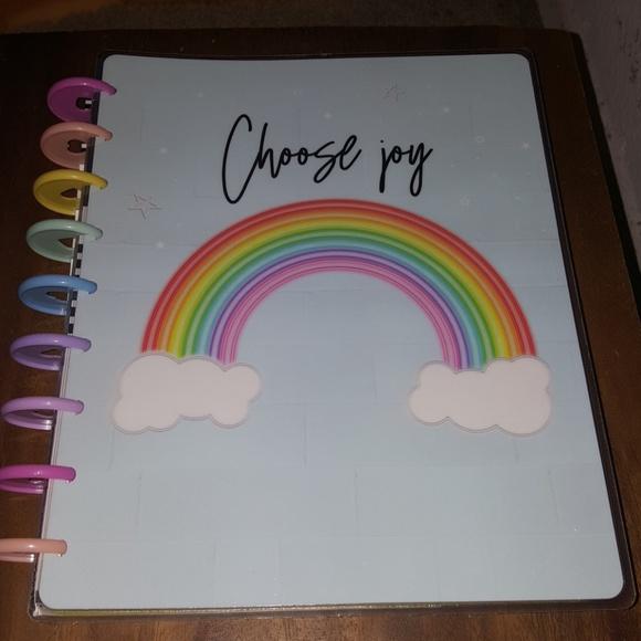 CHOOSE JOY RAINBOW by the happy planner 2020 NWT